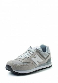 Кроссовки, New Balance, цвет: серый. Артикул: NE007AWUNZ42. Женская обувь / Кроссовки и кеды / Кроссовки