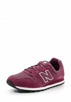 Кроссовки, New Balance, цвет: бордовый. Артикул: NE007AWUNZ43. Женская обувь / Кроссовки и кеды / Кроссовки