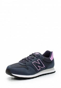 Кроссовки, New Balance, цвет: синий. Артикул: NE007AWUNZ47. Женская обувь / Кроссовки и кеды / Кроссовки