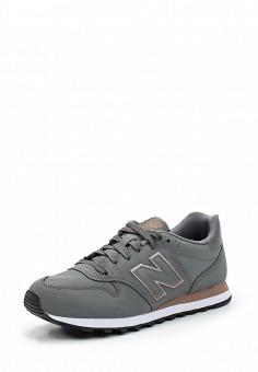 Кроссовки, New Balance, цвет: серый. Артикул: NE007AWUNZ78. Женская обувь / Кроссовки и кеды / Кроссовки