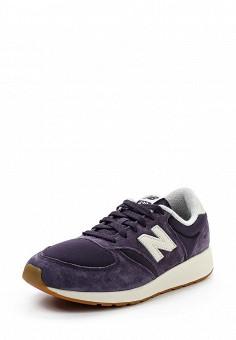 Кроссовки, New Balance, цвет: фиолетовый. Артикул: NE007AWUOA04. Женская обувь / Кроссовки и кеды / Кроссовки