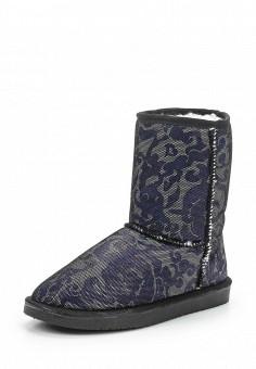 Полусапоги, Nobbaro, цвет: синий. Артикул: NO021AWXRO39. Женская обувь / Сапоги