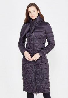 Пуховик, Odri, цвет: черный. Артикул: OD001EWXGF64. Женская одежда / Верхняя одежда / Пуховики и зимние куртки