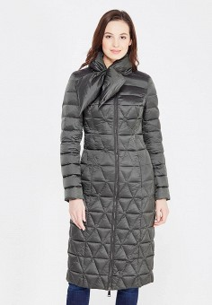 Пуховик, Odri, цвет: зеленый. Артикул: OD001EWXGF65. Женская одежда / Верхняя одежда / Пуховики и зимние куртки