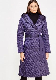 Пуховик, Odri, цвет: фиолетовый. Артикул: OD001EWXGF67. Женская одежда / Верхняя одежда / Пуховики и зимние куртки
