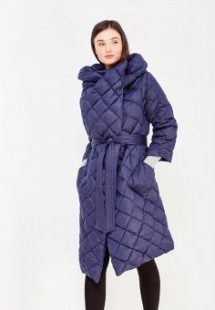 Пуховик, Odri, цвет: синий. Артикул: OD001EWYGM55. Женская одежда / Верхняя одежда / Пуховики и зимние куртки