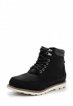 Ботинки, oodji, цвет: черный. Артикул: OO001AMPPA26. Мужская обувь / Ботинки и сапоги
