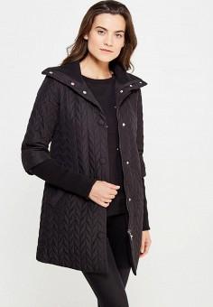 Куртка утепленная, oodji, цвет: черный. Артикул: OO001EWMRB38. Женская одежда / Верхняя одежда / Пуховики и зимние куртки