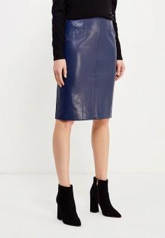 Оджи юбки синие