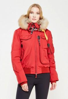 Пуховик, Parajumpers, цвет: красный. Артикул: PA997EWTCG68. Женская одежда / Верхняя одежда / Пуховики и зимние куртки