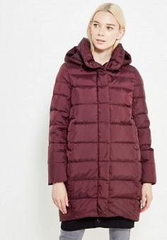 Пуховик, Savage, цвет: бордовый. Артикул: SA004EWVJW36. Женская одежда / Верхняя одежда / Пуховики и зимние куртки