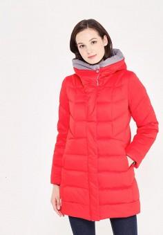 Пуховик, Savage, цвет: красный. Артикул: SA004EWVJW60. Женская одежда / Верхняя одежда / Пуховики и зимние куртки