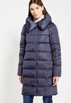 Пуховик, Savage, цвет: синий. Артикул: SA004EWVJW94. Женская одежда / Верхняя одежда / Пуховики и зимние куртки