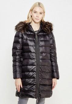 Пуховик, Savage, цвет: черный. Артикул: SA004EWVJX03. Женская одежда / Верхняя одежда / Пуховики и зимние куртки