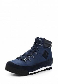 Ботинки трекинговые, The North Face, цвет: синий. Артикул: TH016AMVYK46. Мужская обувь / Ботинки и сапоги