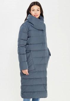 Пуховик, Tom Farr, цвет: серый. Артикул: TO005EWWUW20. Женская одежда / Верхняя одежда / Пуховики и зимние куртки