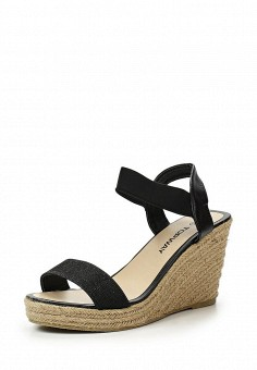 Босоножки, Topway, цвет: черный. Артикул: TO038AWTOA59. Женская обувь / Босоножки
