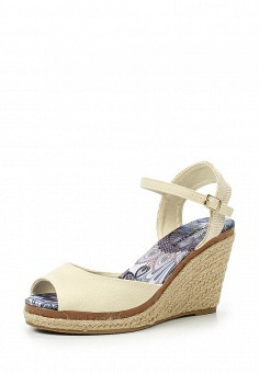 Босоножки, Topway, цвет: бежевый. Артикул: TO038AWTOB01. Женская обувь / Босоножки