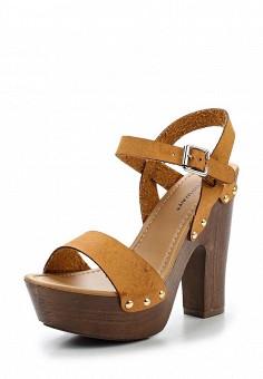 Босоножки, Topway, цвет: коричневый. Артикул: TO038AWTOB18. Женская обувь / Босоножки