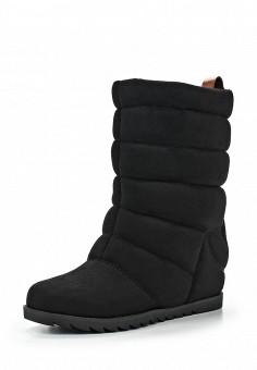 Полусапоги, Zenden Woman, цвет: черный. Артикул: ZE009AWFYX54. Женская обувь / Сапоги